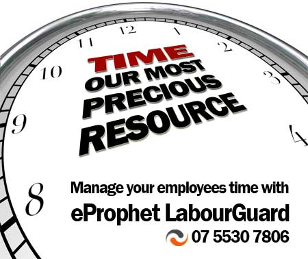 time our most precious resource - control overtime penalties with labourGuard timeclosk system